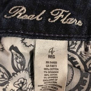 American Eagle Real Flare Dark Wash Jeans